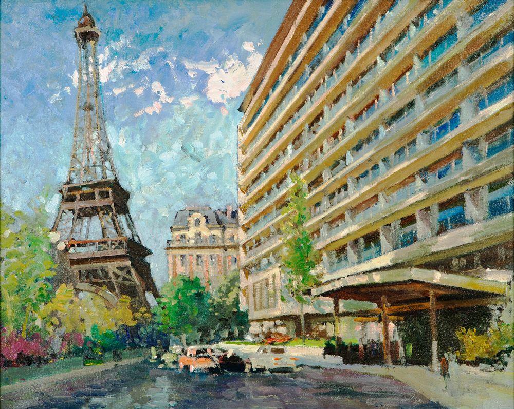 Pullman, Paris, Tour Eiffel
