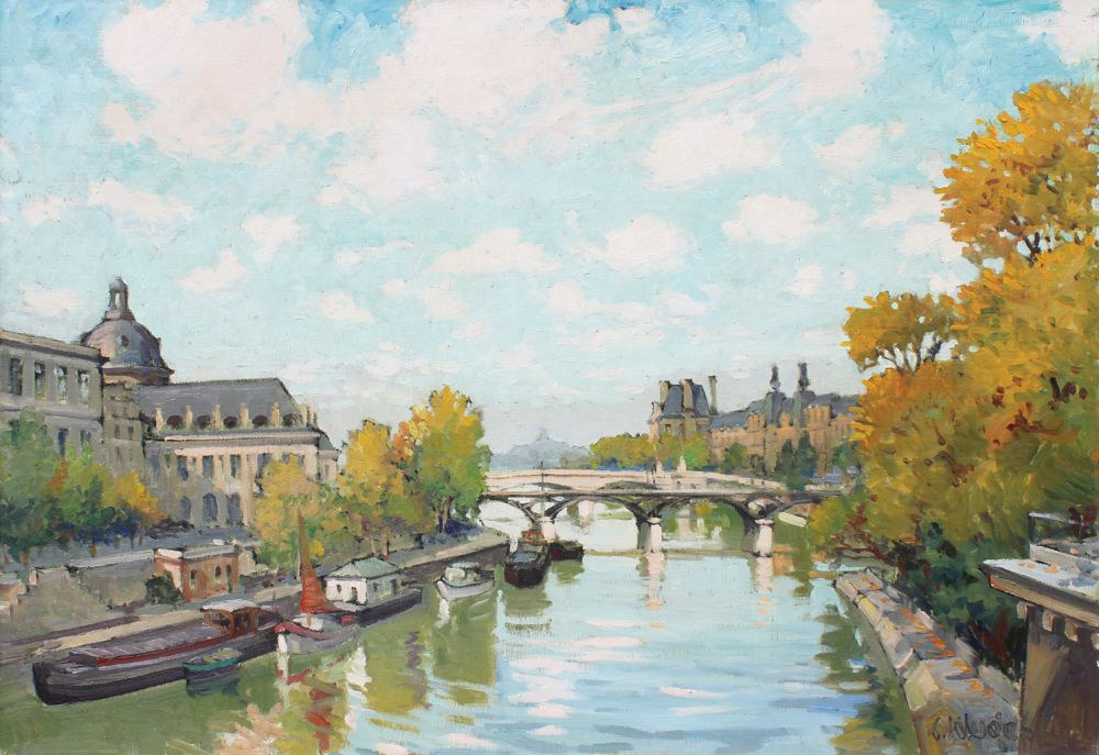 La Seine a Paris