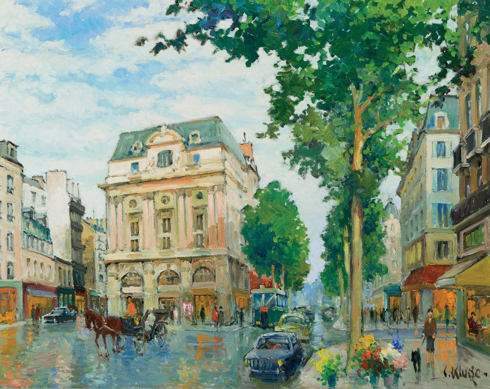 Le boulevard Saint Martin