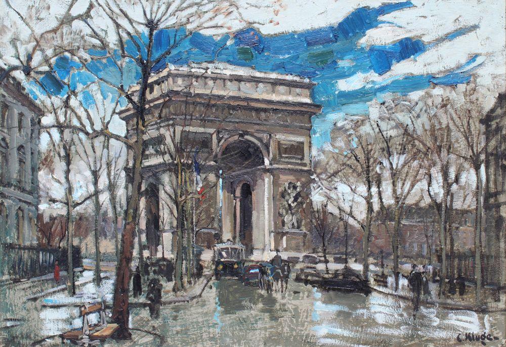 Avenue Carnot et Arc de Triomphe