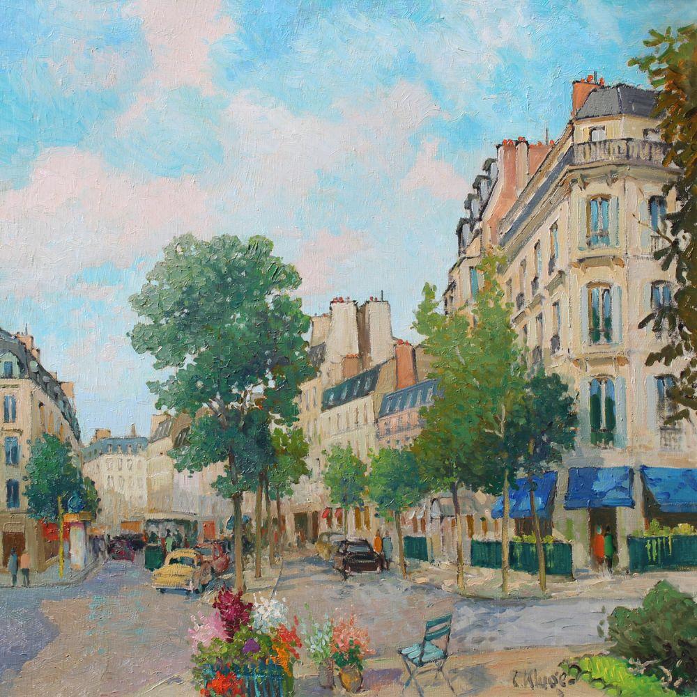 Avenue Gabriel et Avenue Matignon