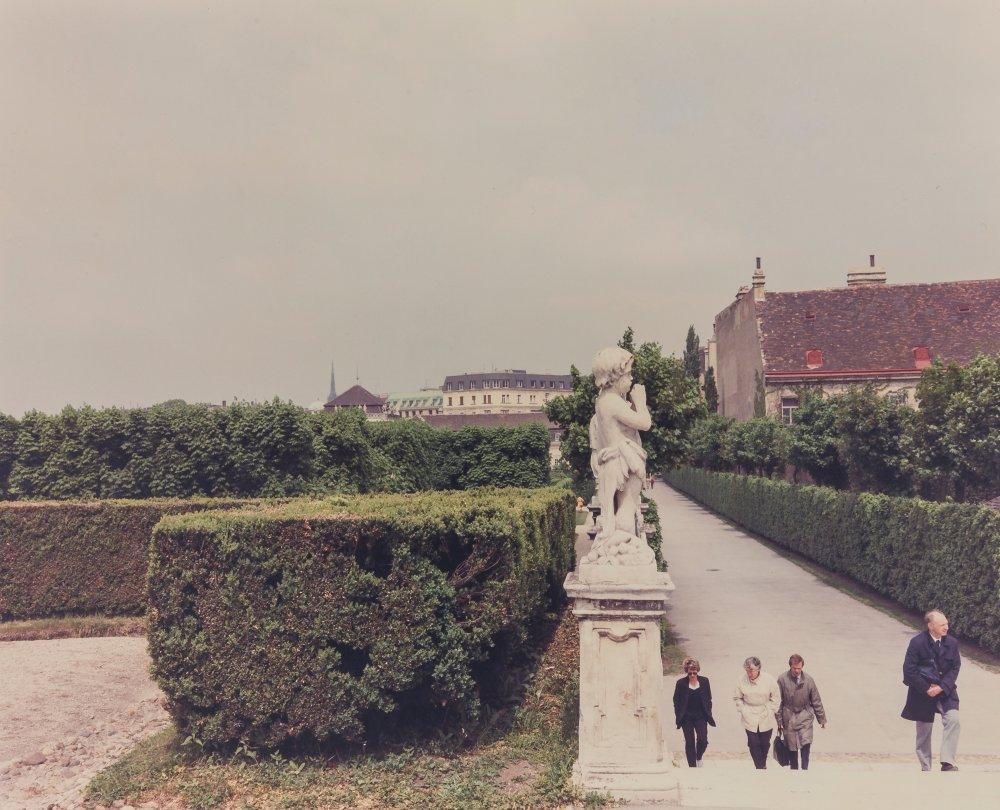 Belvedere, Vienna (Serie: Un piede nell'Eden)
