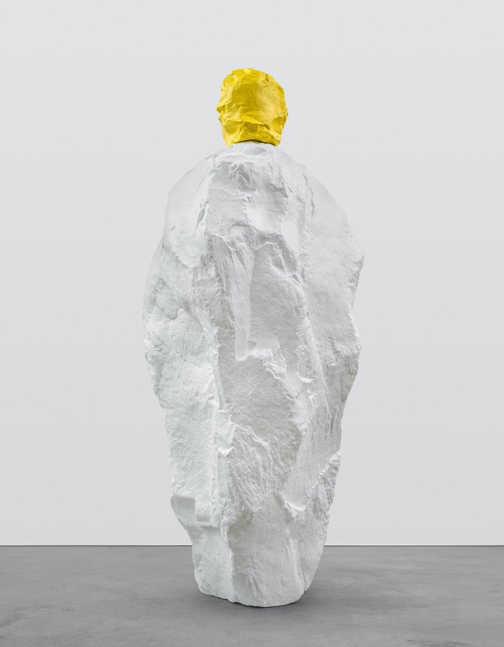 yellow white monk