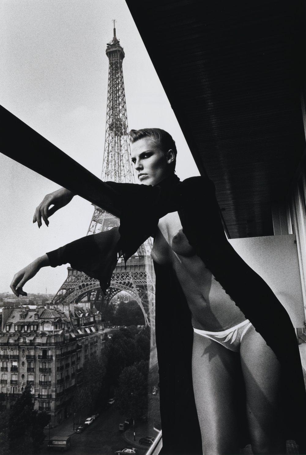 10th floor, Hilton Hotel, Paris, 1976