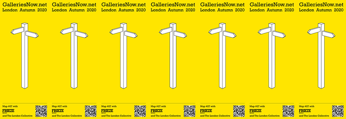 The GalleriesNow London Gallery Map
